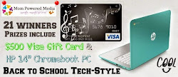 $500 Visa GC & Chromebook PC