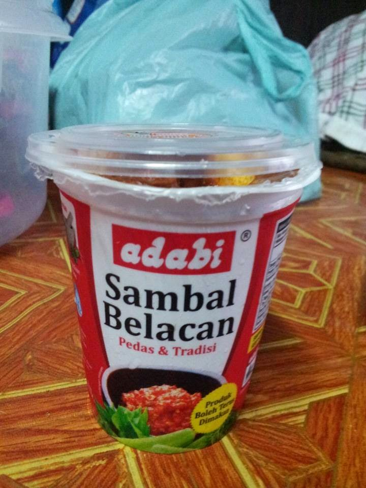 SAMBAL BELACAN ADABI