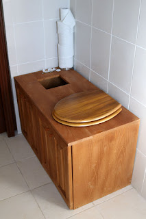 The new toilet