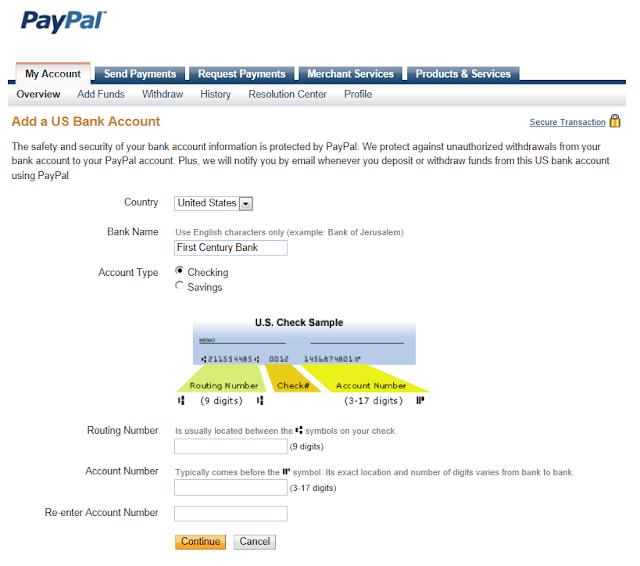 Completar US Payment Service de payoneer en paypal - Explicado por Argendolar