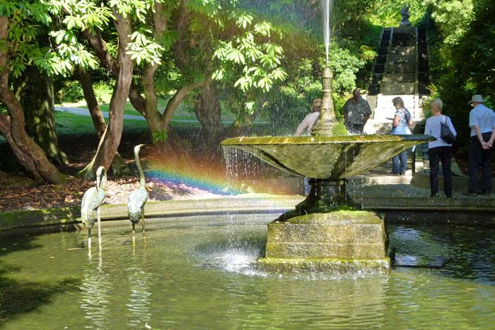 Fountain, Neptune Cascade, Holker