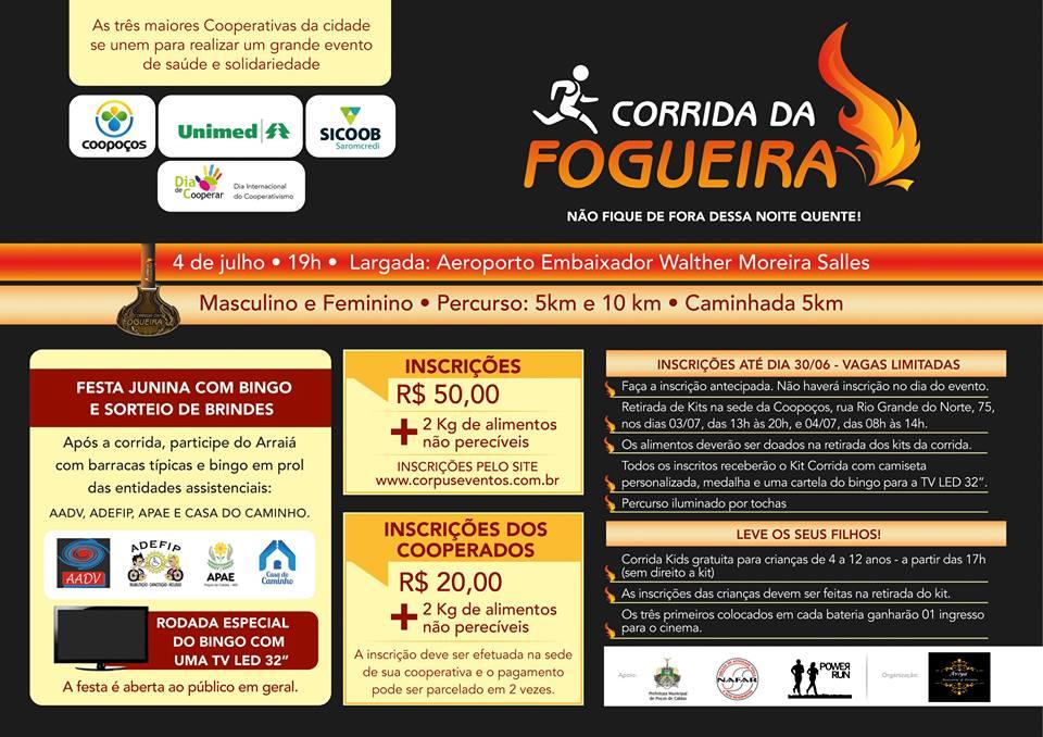 CORRIDA DA FOGUEIRA