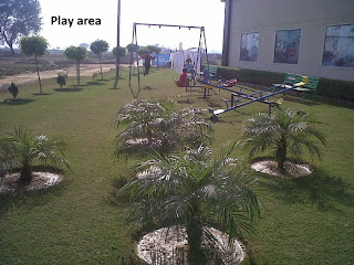 Golf Country, Yamuna Expressway :: Construction Status on July 2014 :-Play Area