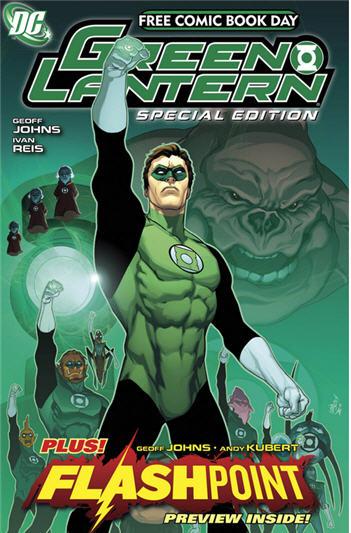 free comic book day green lantern review