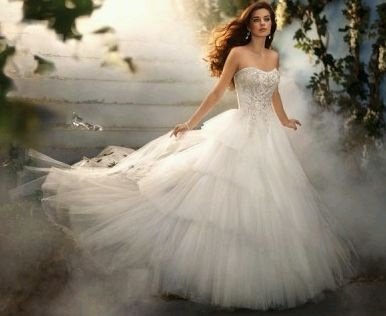 MuyAmeno.com: Vestidos de Novia Estilo Princesa, parte 2