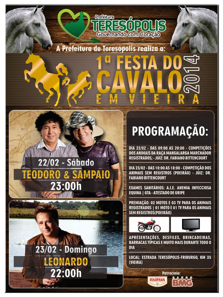 Movimento Pró-artesanato Local marca presença na Festa do Cavalo de Teresópolis