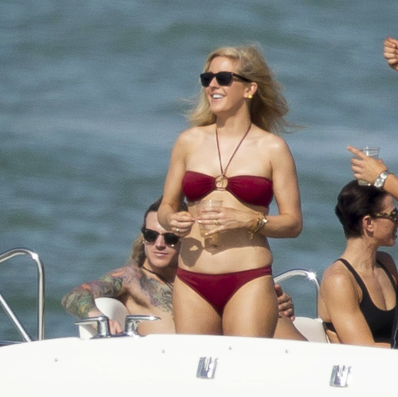 Ellie Goulding Bikini Candids – Yacht in Miami