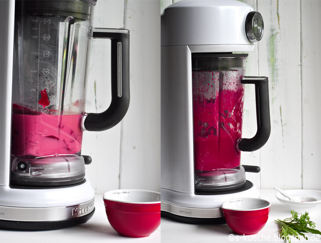 Rote Bete Suppe Magnetic Drive Blender