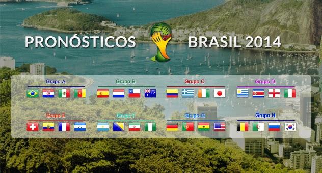 Poster de los equipos participantes en la Copa Mundial de la FIFA Brasil 2014 | Ximinia