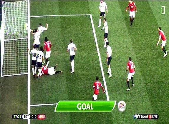 Trận hòa tiếc nuối của Man Utd trước Tottenham ở vòng 19