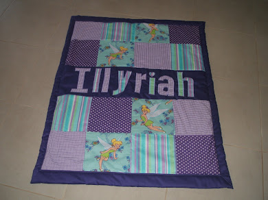 Pretty Tinkerbell quilt - new design