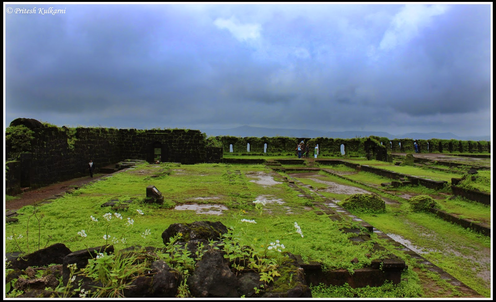 Raj bhavan - Mahajara's house area