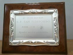 AL  CLUB HOCKEY C. P.  SAN ILDEFONSO TALAVERA