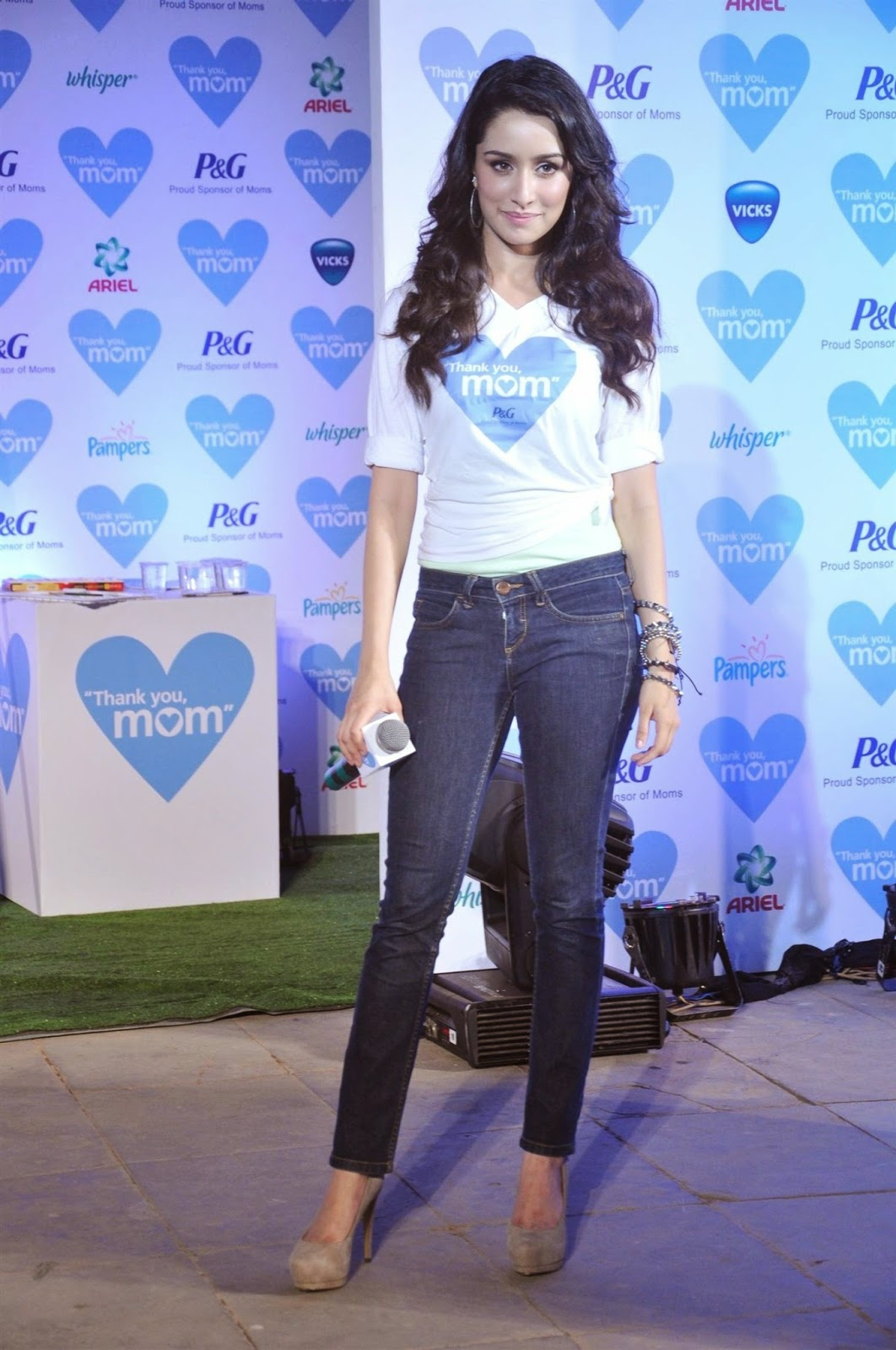 Shraddha Kapoor at P&G thank you mom event in Bandra