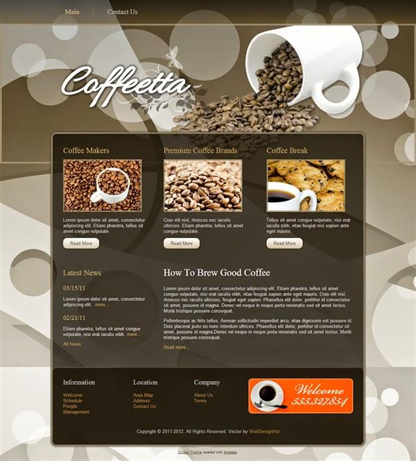 Coffeetta - Free Drupal Theme
