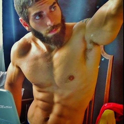 Bearded Man's Hairy Armpits