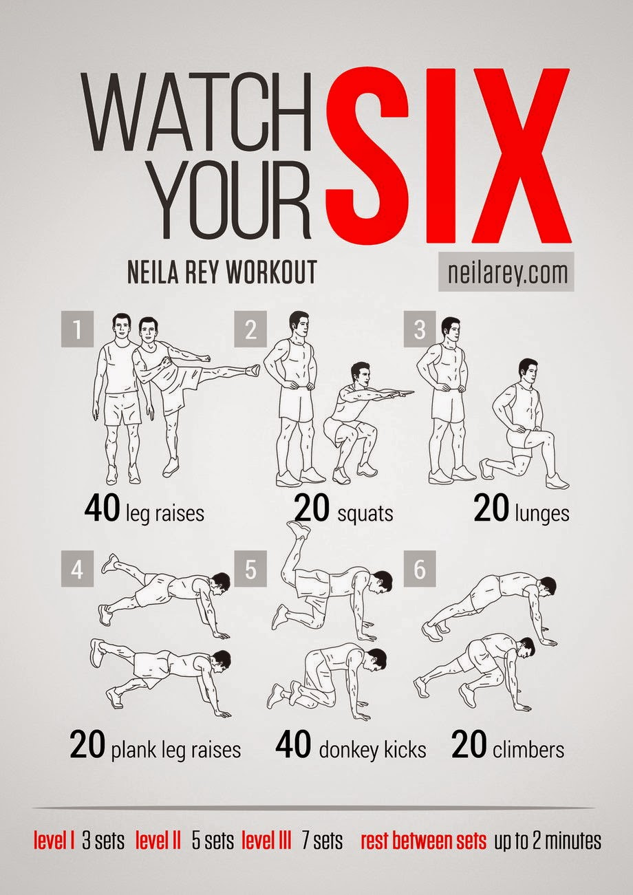 Exercises without Equipment