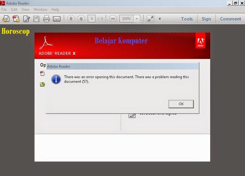 Cara Mengatasi PDF Yang Tidak Bisa Dibuka 1