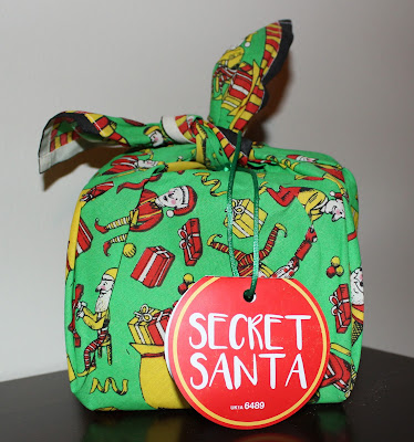 Lush Secret Santa Wrapped Gift