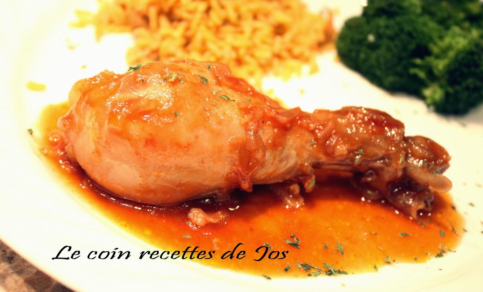 Le Coin Recettes De Jos Pilons De Poulet A L Oignon B B Q