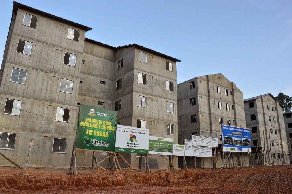 Em meados de setembro serão entregues 220 apartamentos às vítimas das chuvas de janeiro de 2011