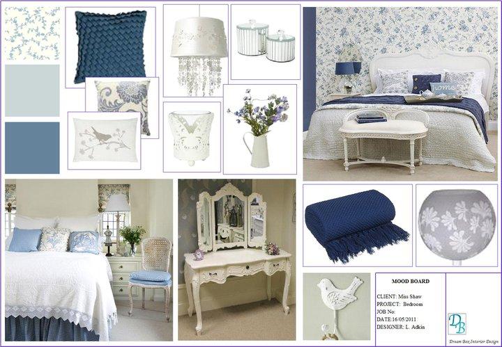 Laura Adkin Interiors: Mood Board - French Inspired Bedroom