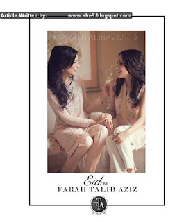 Farah Talib Aziz Embroidered Eid Dresses