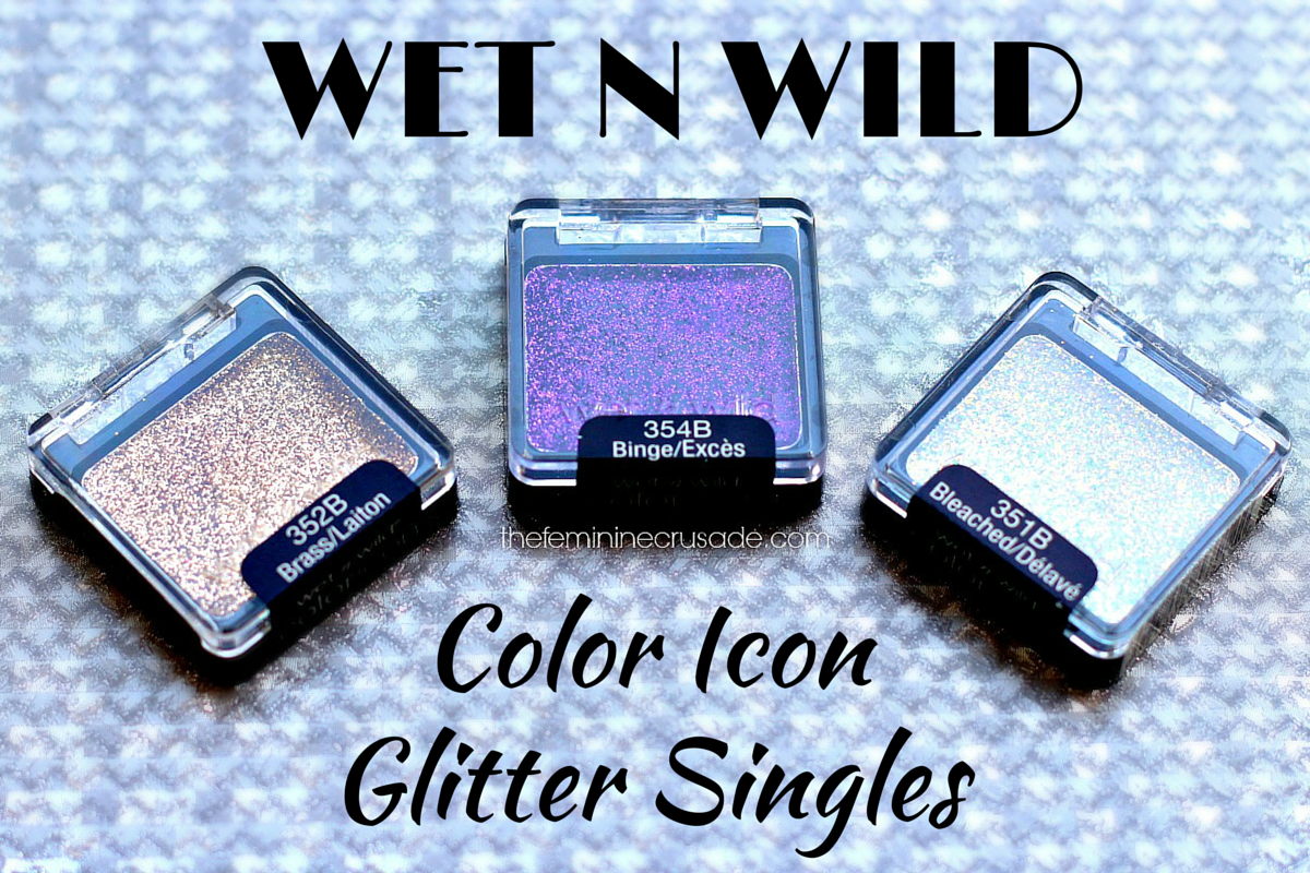 Wet n Wild Color Icon Glitter Singles