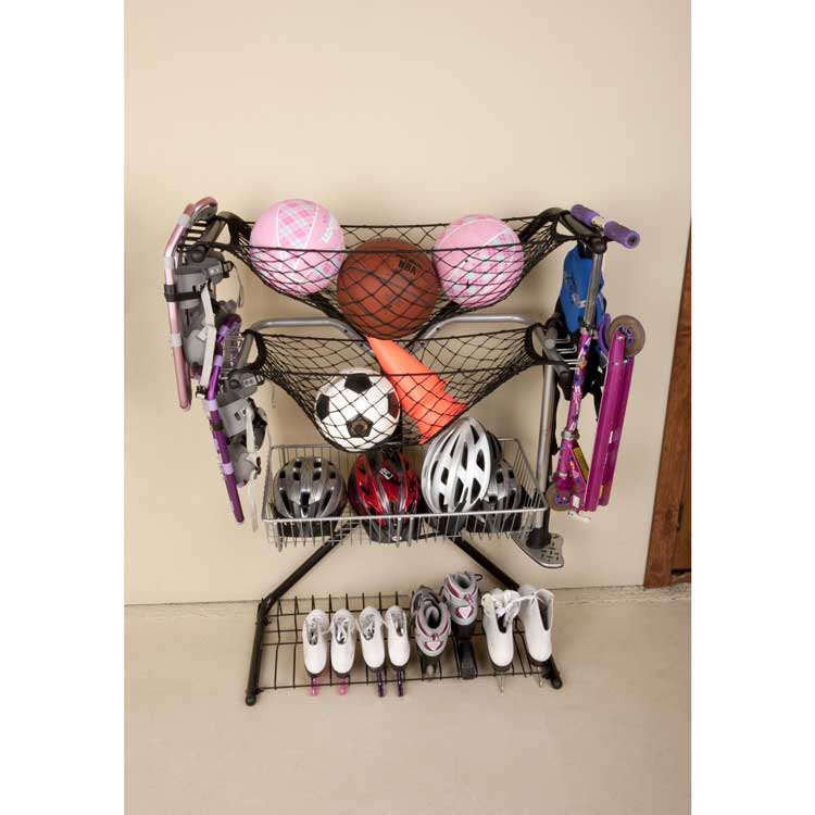 Sports Equipment Garage Storage Rack | NEW RACK | StoreYourBoard.com