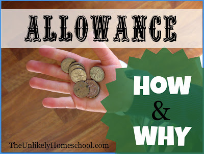 How and Why I Give My Kids Allowance {Part 2}