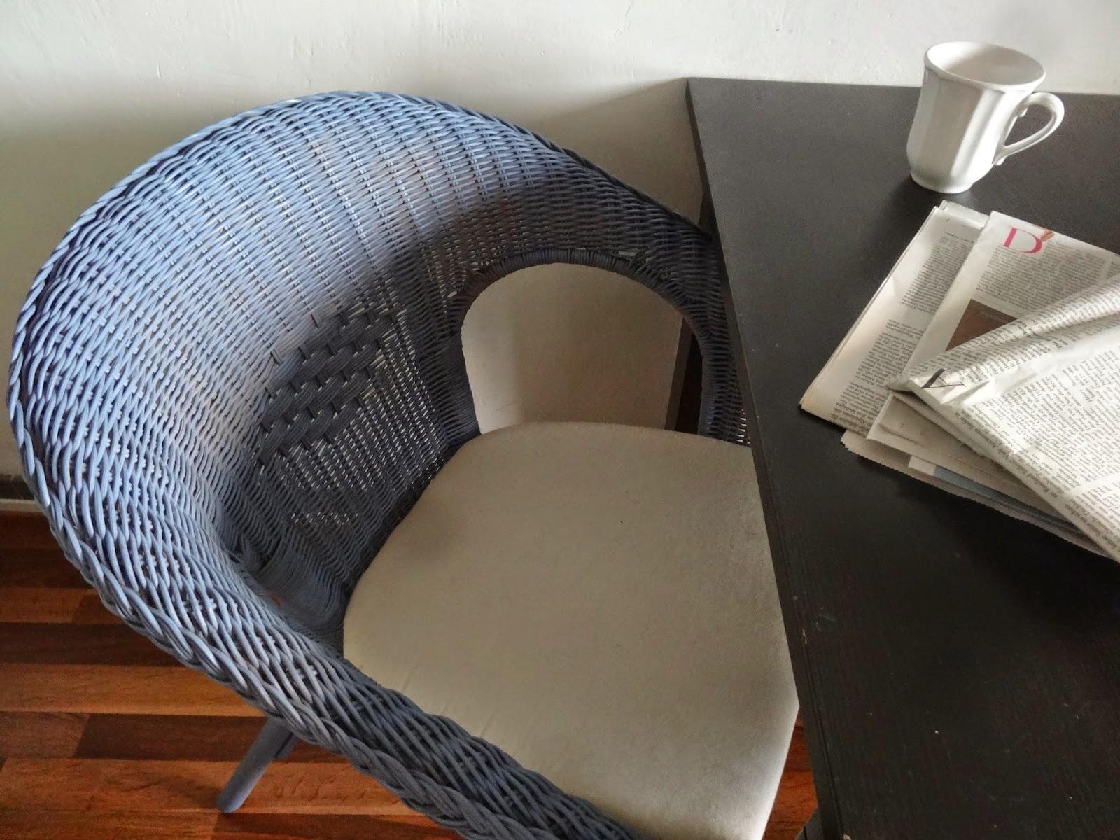 Agen angesprüht: Ikea-Möbel im Shabby Chic