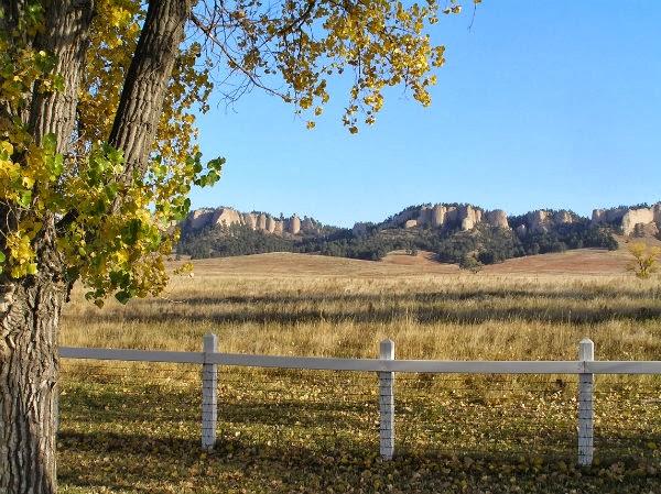 Western Nebraska in the Fall Fort Robinson Area