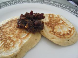 bacon jam pancakes