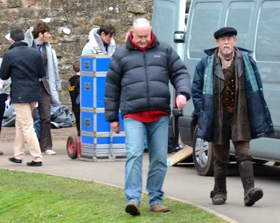 Doctor Who, John Hurt, fiftieth anniversary, costume, filming