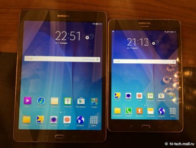 Samsung Galaxy Tab A, Hadir Dalam Varian 8 Inci dan 9,7 Inci