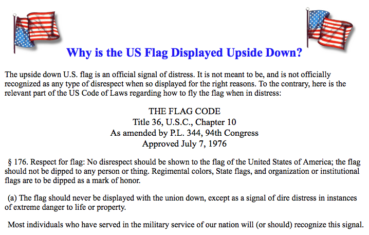 Free To Find Truth 113 The Flag In Distress On Cnns Fourth Of