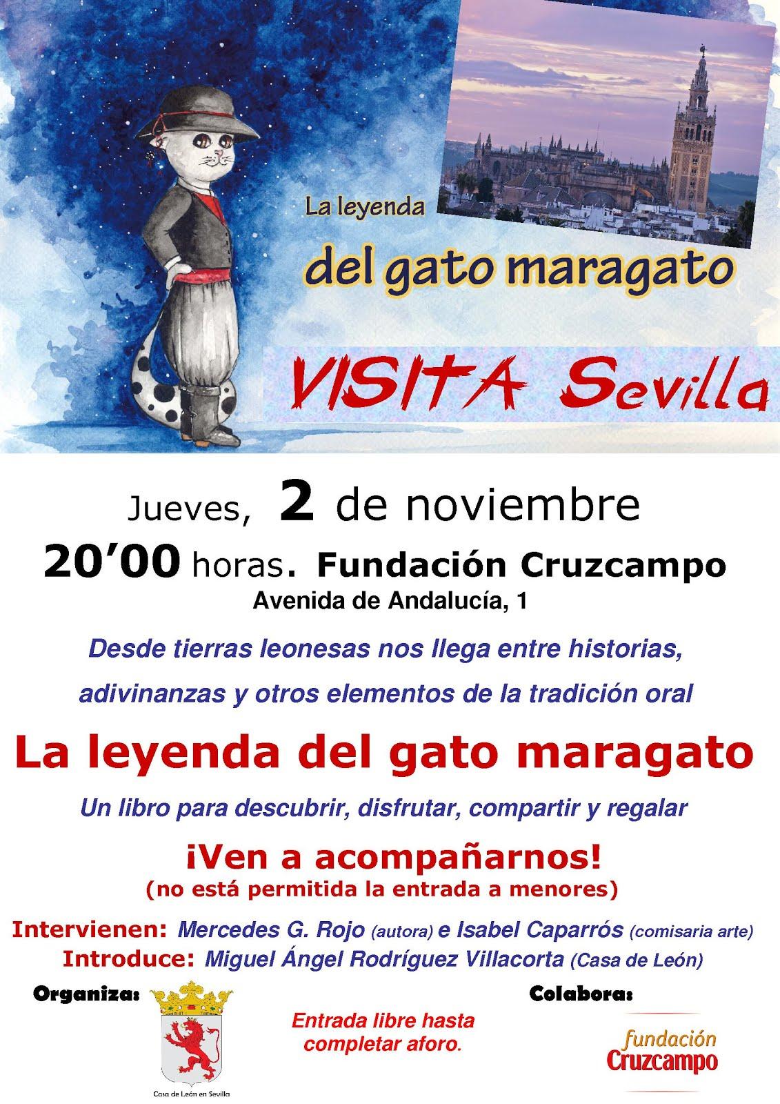 El gato maragato visita Sevilla.  2 de noviembre