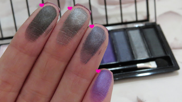 swatches paleta ruby kisses bad romance