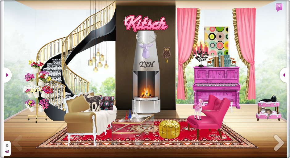 Truques stardoll hoje nova decor kitsch Decoration kitsch