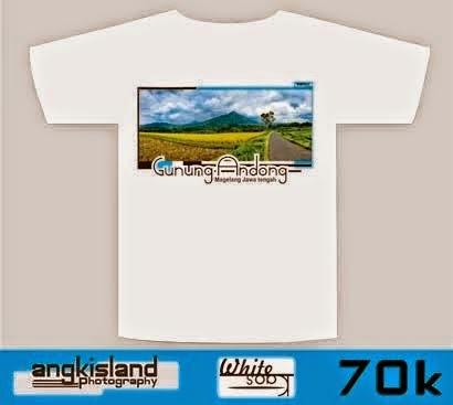 white caos gunung andong