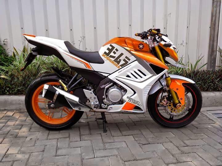 Modifikasi Sederhana Motor Yamaha New Vixion