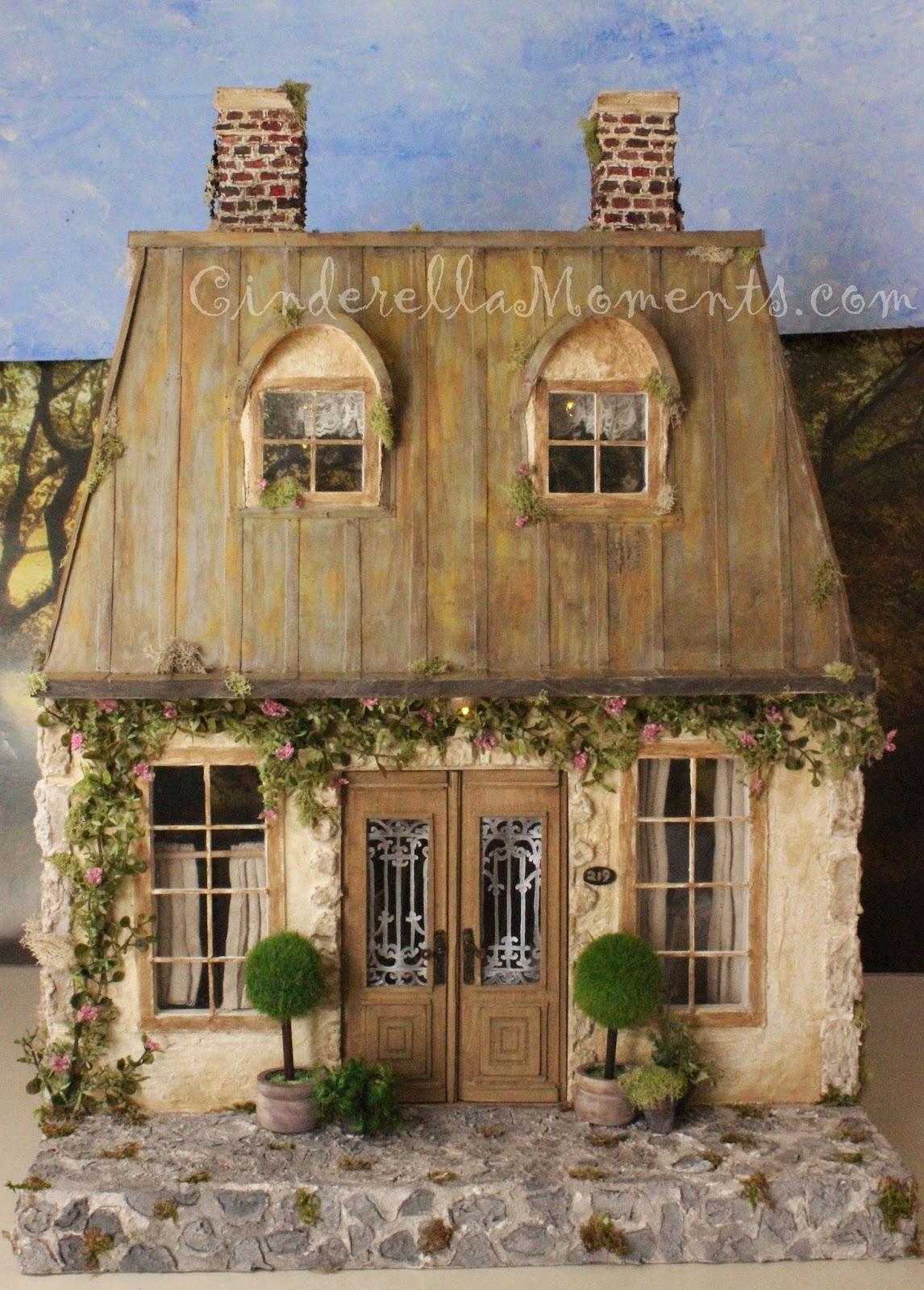 Cinderella moments la maison de campagne custom dollhouse - Maison de la campagne ...