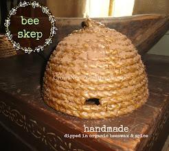 Handmade Bee Skeps