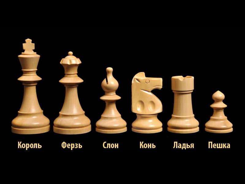Как называются фигуры в шахматах с картинками
