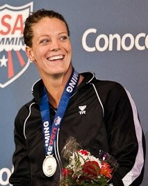 Top American Swimmer Amanda Weir