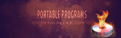 شرح عمل نسخه Portable لاى برنامج