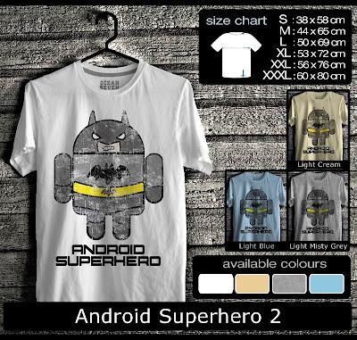 kaos distro android superhero 2