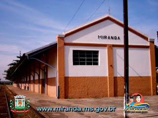 Estação Ferroviária de Miranda-MS