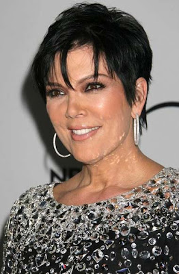 Kris Jenner Diamond Hoop Earrings
