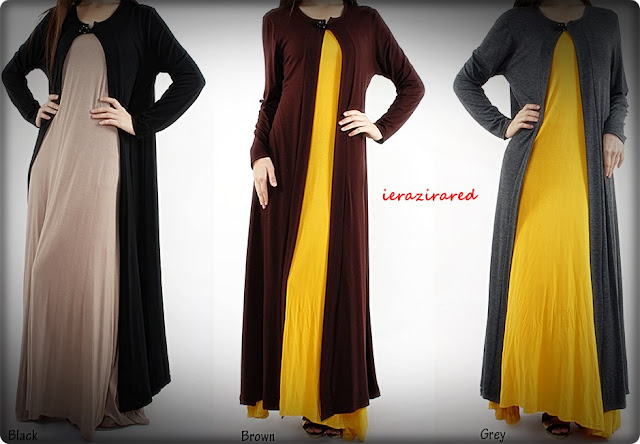Long Cardigan Labuh Second Batch